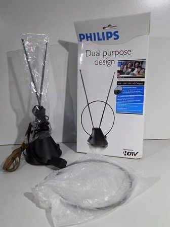 Philips Indoor Television Antenna - NIB - shopgoodwill.com