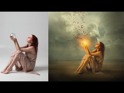 Photoshop Tutorial | Manipulation Workflow and shading - YouTube