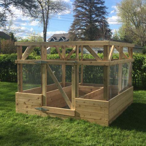 99 best Vegetable garden enclosures images on Pinterest