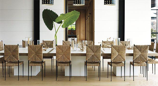 Haynes Roberts Southampton Home - Designer Hampton's Beach House - ELLE DECOR