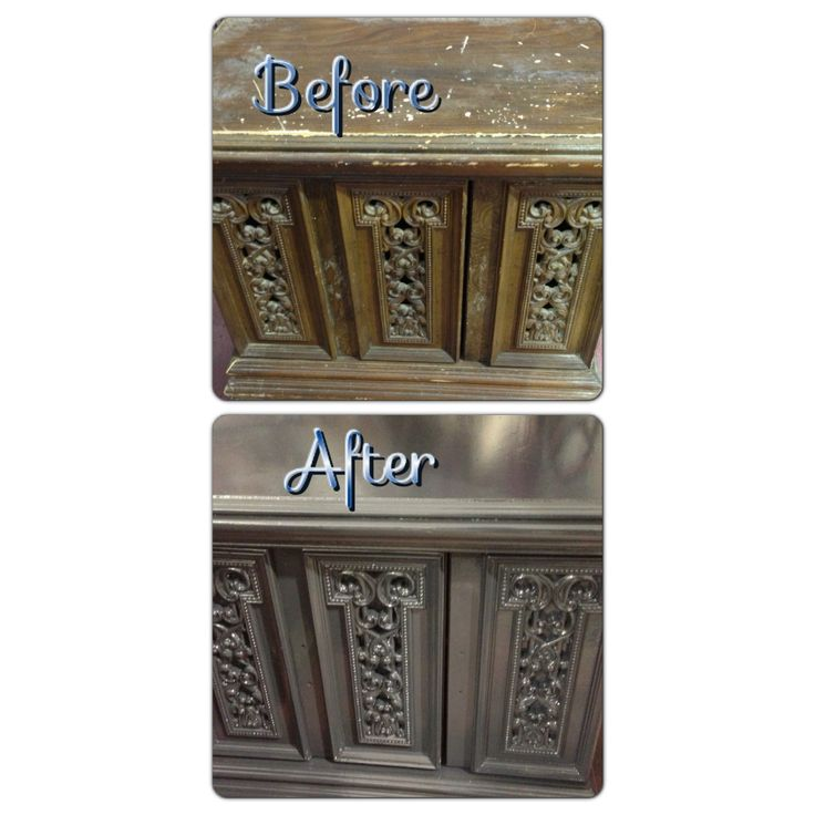 Before & After Furniture Painting!: