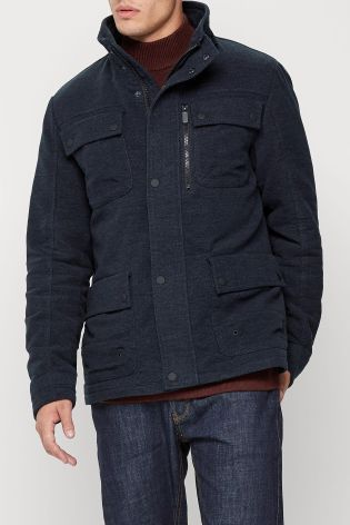 Buy Navy Four Pocket Moleskin Jacket online today at Next: Rep. of Ireland