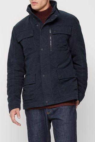 Buy Navy Four Pocket Moleskin Jacket online today at Next: Rep. of Ireland