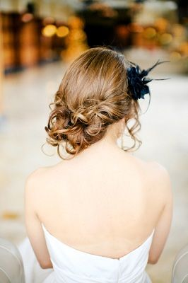 Just for you whit...25 Wedding Updos That Are Anything But Uptight