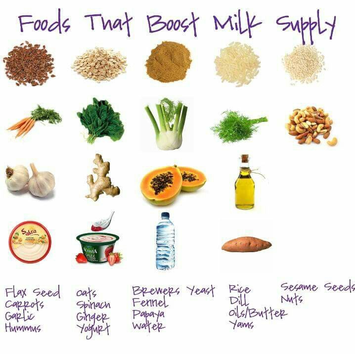 Foods That Increase Milk Supply Fast