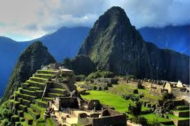 Machu Picchu in Peru is one of the Wonders of the World.