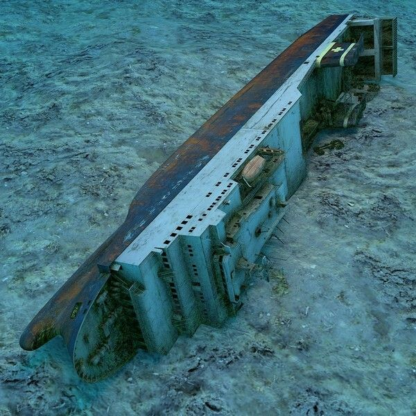 The MS Zenobia was a roll-on roll-off ferry which launched in 1979 and sank in 1980 on her maiden voyage. No lives were lost. She lies on her side, outside Lanarka harbour.