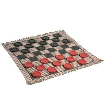 This reversible rug gives folks 3 great ways to have fun – Checkers, Tic Tac Toe, and Super Tic Tac Toe! Made from recycled materials, the rugs are hand-woven on looms that date back to the 1920s. Perfect for a night in doors during the cold winter weather!