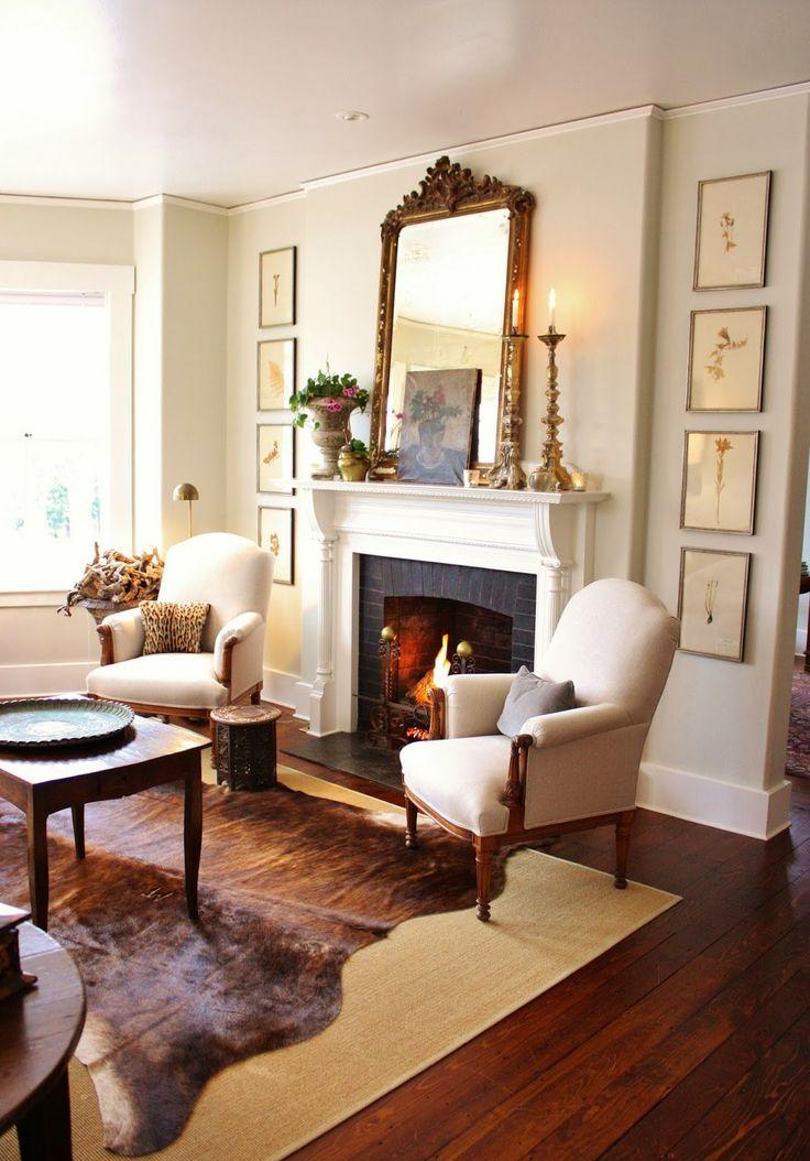 43+ Gray cowhide rug in living room ideas in 2021