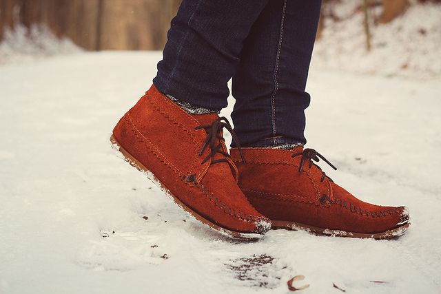 Love My Minnetonka Moccasin Suede Ankle Boots Selective
