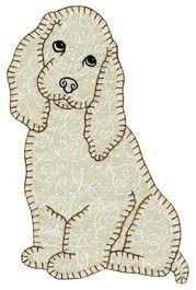 Aww!!  Rosebud's look a like!!  Cute quilt applique!
