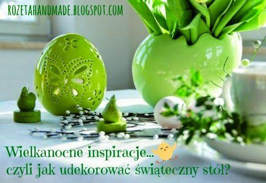 Rozeta handmade: Święta Wielkanocne