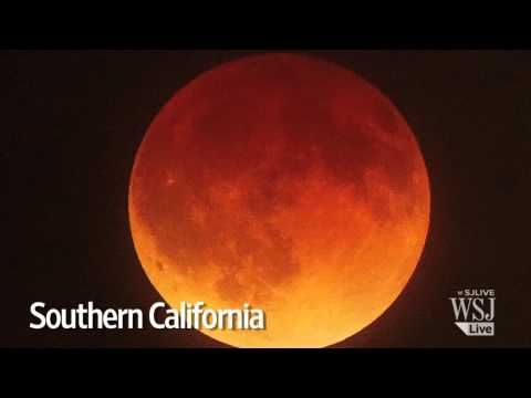Dazzling Blood Moon Eclipse Across North America - Breaking Israel News | Israel Latest News, Israel Prophecy News