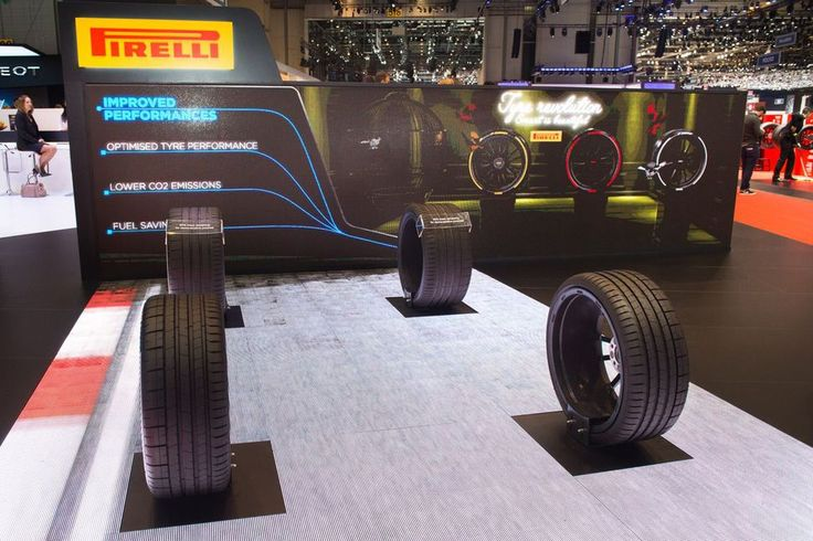 The tire manufacturer is now offering color-accent smart tires that are connected to the cloud.
