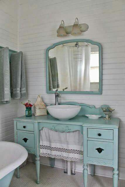 shabby chic bathroom sink 10 decorative designs for your small bathroom repurposed 20340