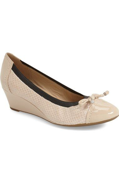 Geox 'Floralie 13' Wedge Pump (Women) available at #Nordstrom