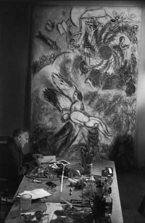 Marc Chagall, by Ugo Mulas, 1958