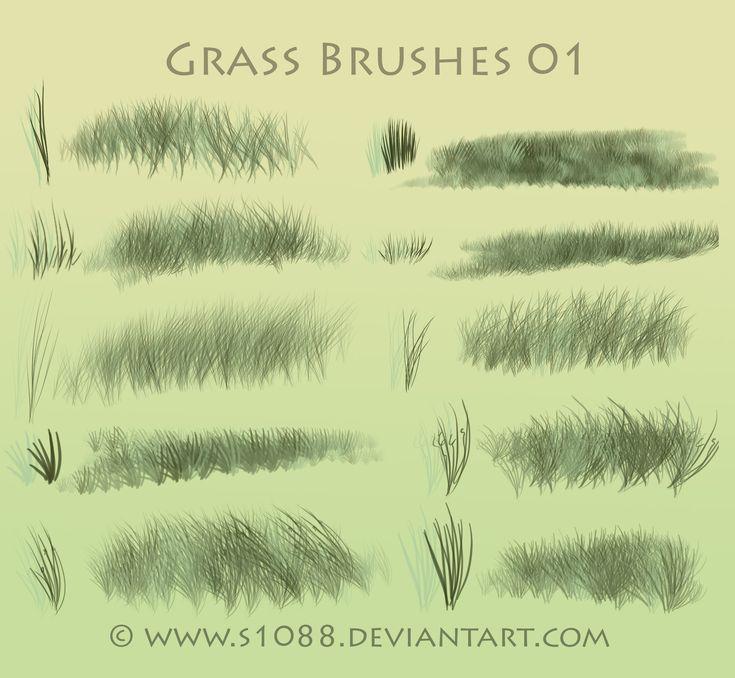 Grass Brushes: http://browse.deviantart.com/?order=9=brushes=48#/d4ycvbo