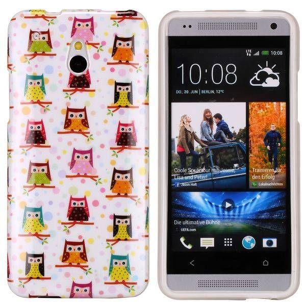 Uiltjes design TPU hoesje voor de HTC One mini