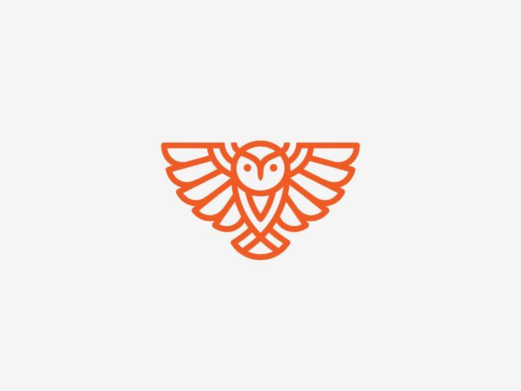 Owl by Dimitrije Mikovic #Design Popular #Dribbble #shots