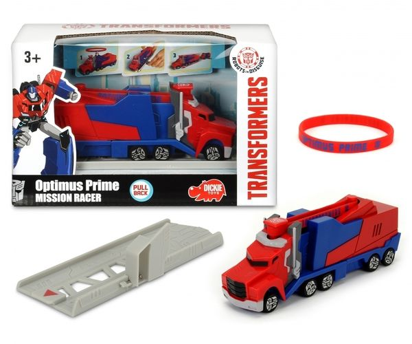 Dickie Toys Transformers RID Diecast, RC Racers, Optimus Prime Battle Truck, Trailer and More