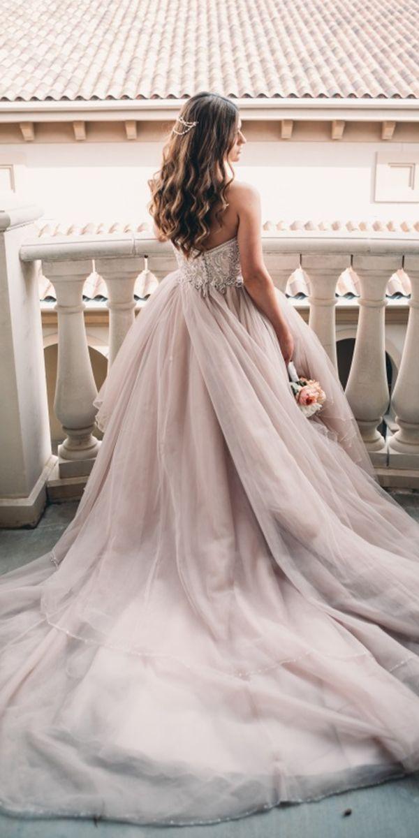 21 Princess Wedding Dresses For Fairy Tale Celebration Wedding Dresses Guide Princess Wedding Dresses Blush Tulle Wedding Dress Wedding Dress Guide