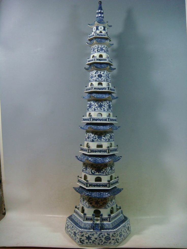 12 Best Images About Porcelain Pagodas On Pinterest Blue