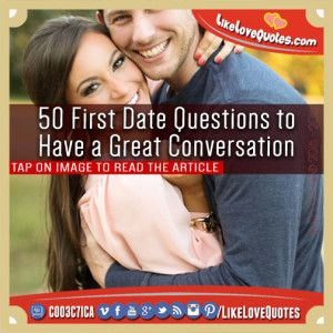 50 First Date Questions to Have a Great Conversation