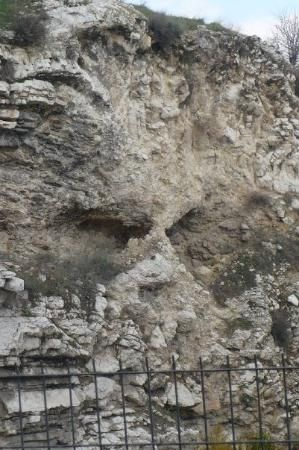 "Golgotha - ""the place of the skull"" - where Jesus was crucifed - Jerusalem"