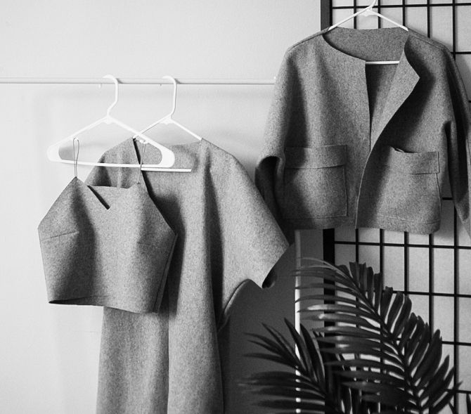 LATEST DESIGN : WOOL SET | Maria Van Nguyen