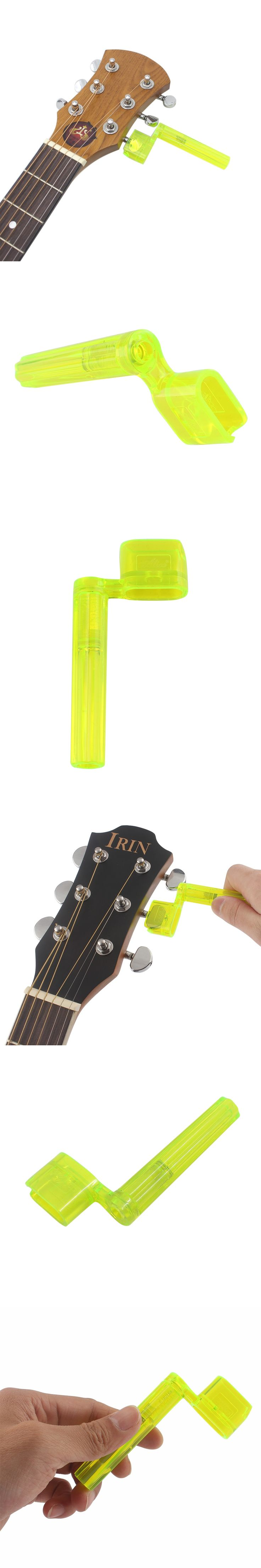 IRIN A009P Plastic Guitar Grover Guitar Bridge Pins & Tuning Peg Remover String Winder Electric Guitar