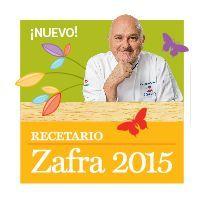 Recetario Zafra 2015 por Osvaldo Gross