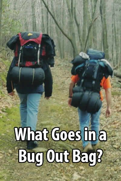 What Goes in a Bug Out Bag?