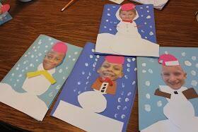 Sneeuwpoppen met eigen gezicht :-)