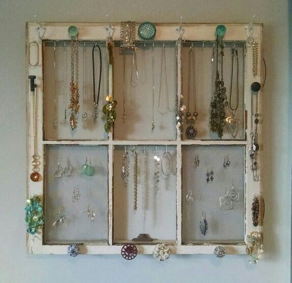 Felicia made me this jewelry board for mothers day and I love it!