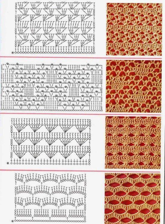 Mejores 22 imágenes de blusas a crochet en Pinterest   Patrones de ...
