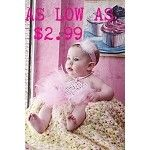 Cheap tutus and pettirompers, as well as bows!! Perfect for pictures and birthdays