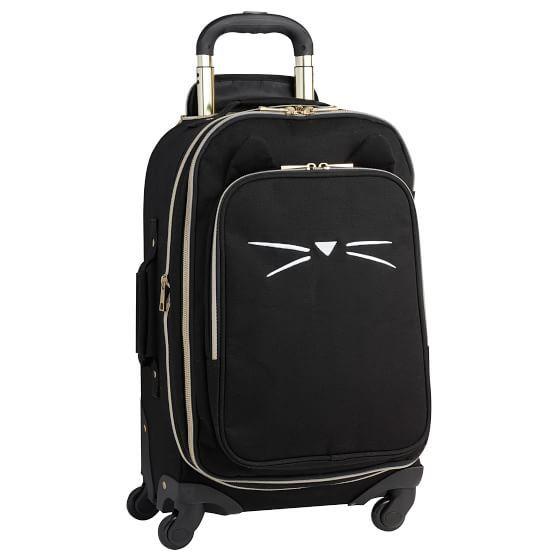 2d704d242 The Emily & Meritt Black Cat Carry-On Spinner | pb teen may 2018 ...