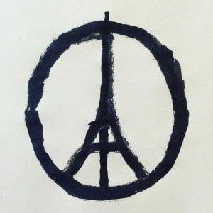 Jean+Jullien's+Peace+for+Paris+illustration+becomes+symbol+of+unity+in+wake+of+terror+attacks