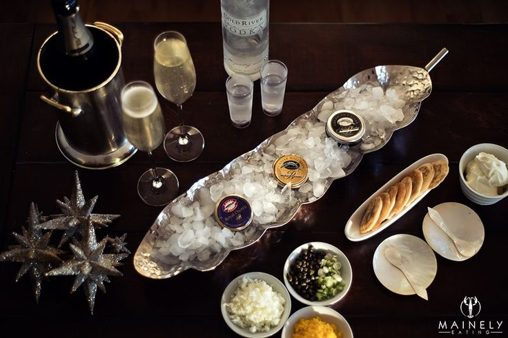 Tips on how to serve and eat caviar at home