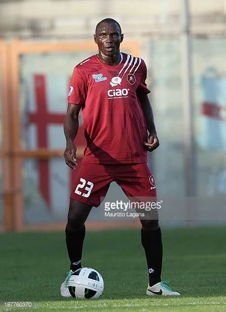 Daniel Adejo of Reggina during Serie B match played between Reggina Calcio and Calcio Padova at Stadio Oreste Granillo on November 9 2013 in Reggio...