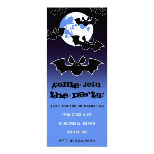 56 best a not so scary halloween images on pinterest scary batty halloweenbirthday invites stopboris Images