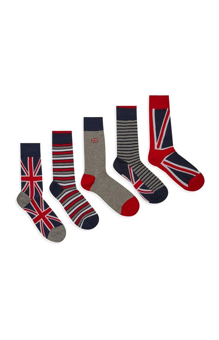 Primark - Union Jack Print Socks