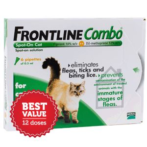 Frontline Combo Cat 12 Up to 15% Off on Advantage Multi Packs http://couponssmart.com/store/?si=Our-Pet-World