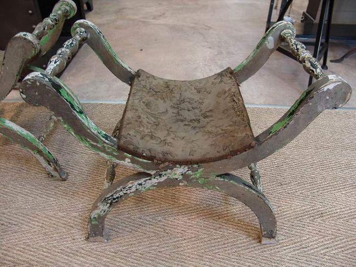 Roman Curule Chair Ancient Rome Artifacts Unique