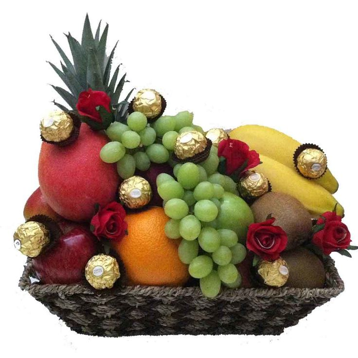 iGift Fruit Hampers - Fruit Basket   Ferrero Chocolates   Red Silk Roses - Free Delivery, $99.00 (https://igiftfruithampers.com.au/fruit-baskets/fruit-basket-ferrero-chocolates-red-silk-roses-free-delivery/)
