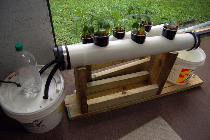 Small NFT Hydroponics System by Weissensteinburg