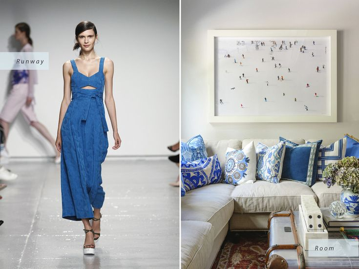 © Rustic White Rebecca Taylor Spring 2015 Runway | Home of Mandy Kellogg Rye, Waiting on Martha Interior Design Inspired by Spring 2015 Fashion Trends - Condé Nast Traveler