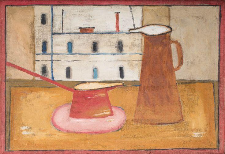 JERZY NOWOSIELSKI (1923 - 2011)  MARTWA NATURA   olej, płótno / 46 x 68 cm