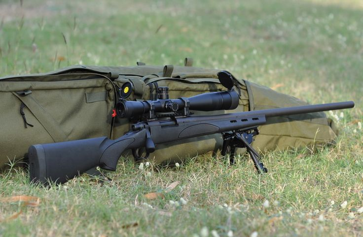 Remington 700 sps Tactical Rifle. .308 the official sniper rifle of the apocalypse